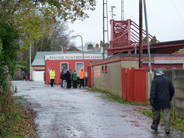 Accrington Stanley FC - The Crown Ground