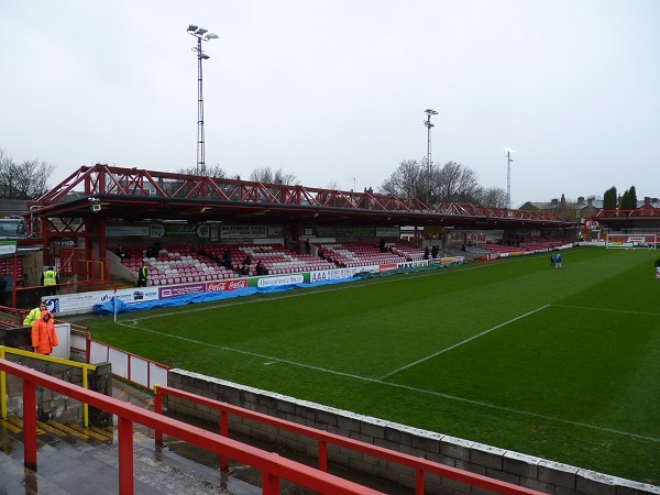 Accrington Stanley FC - The Crown Ground - Main Stand