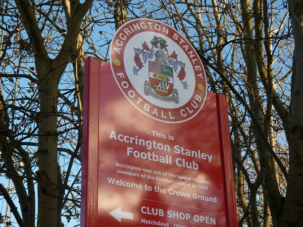 Welcome to Accrington