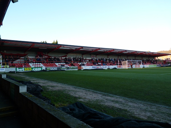 Accrington Stanley FC - The Crown Ground - The Sophia Khan Stand