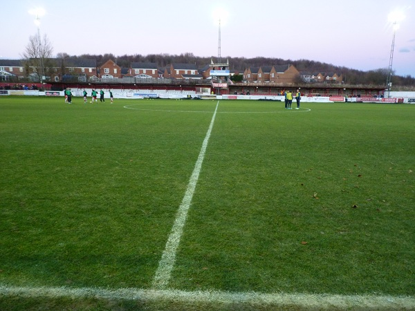 View off the touchline