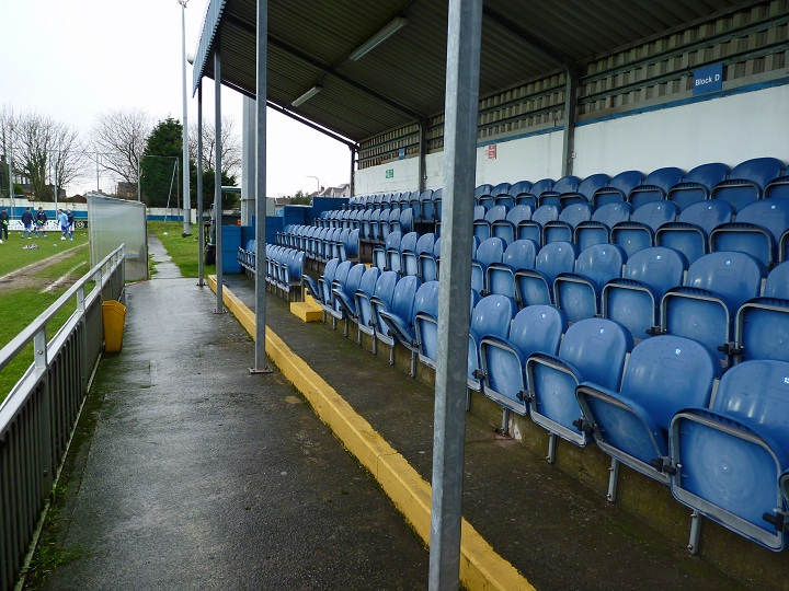 Port Talbot Town FC - Victoria Road - Victoria Road Side