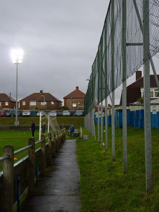 Port Talbot Town FC - Victoria Road - Burns Road End
