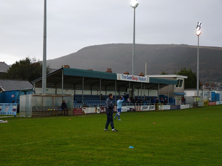 Port Talbot Town FC - Victoria Road - Victoria Road End