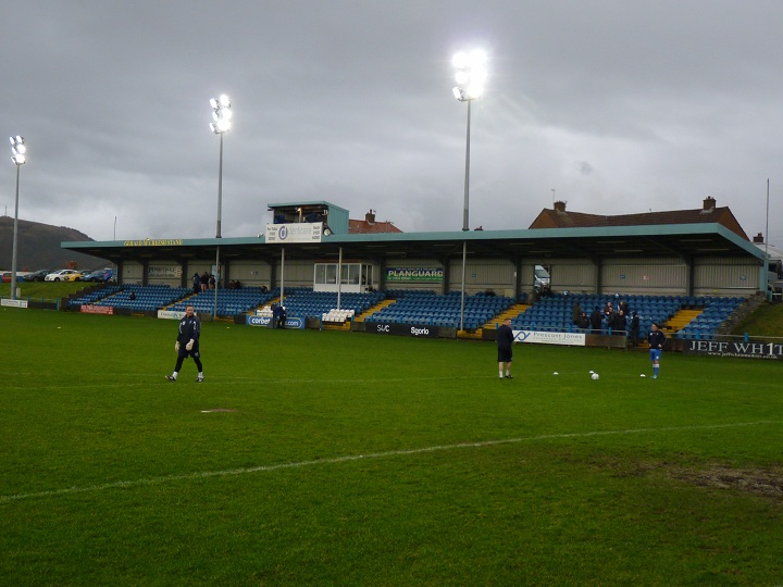 Port Talbot Town FC - Victoria Road - The Main Stand