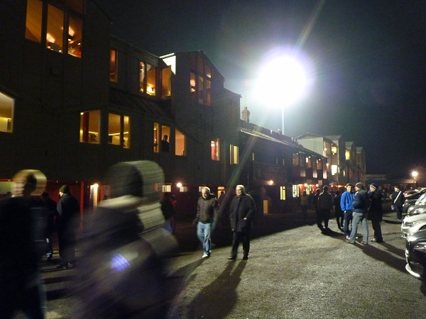 York City FC - Bootham Crescent - Main Stand