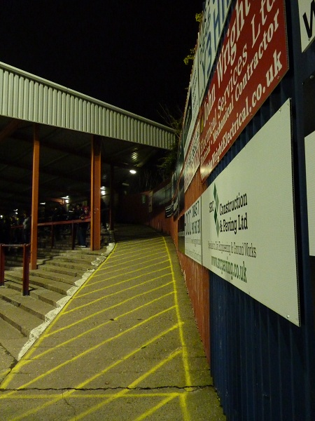 York City FC - Bootham Crescent - David Longhurst Stand