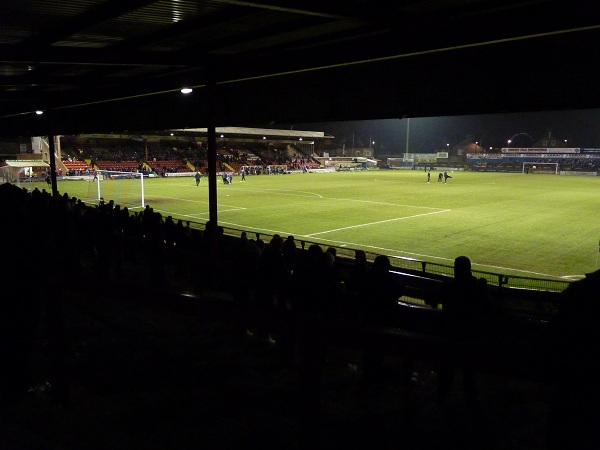 View from the back of the David Longhurst Stand
