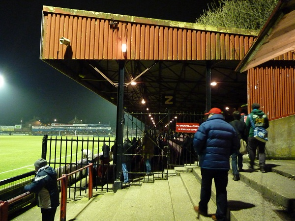 York City FC - Bootham Crescent - Popular Stand