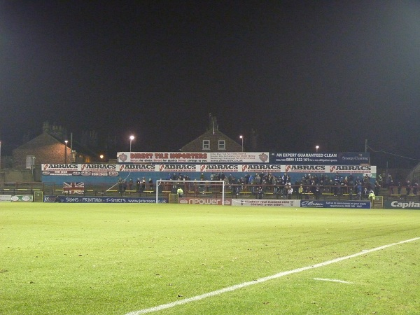York City FC - Bootham Crescent - Grosvenor Road Terrace
