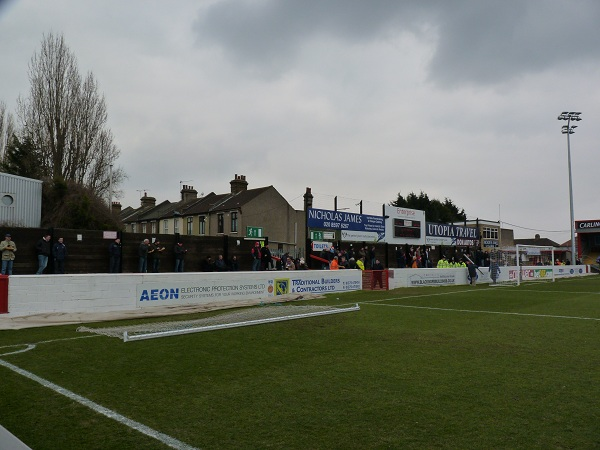 Dagenham & Redbridge FC - Victoria Road - Bury Road End Terrace