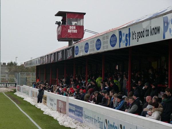 Dagenham & Redbridge FC - Victoria Road - North Terrace