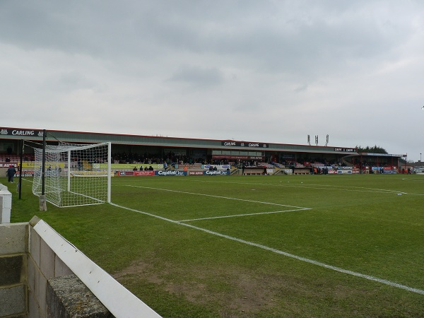 Dagenham & Redbridge FC - Victoria Road - Main Stand