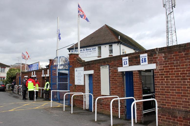 Worcester City FC - St. George's Lane