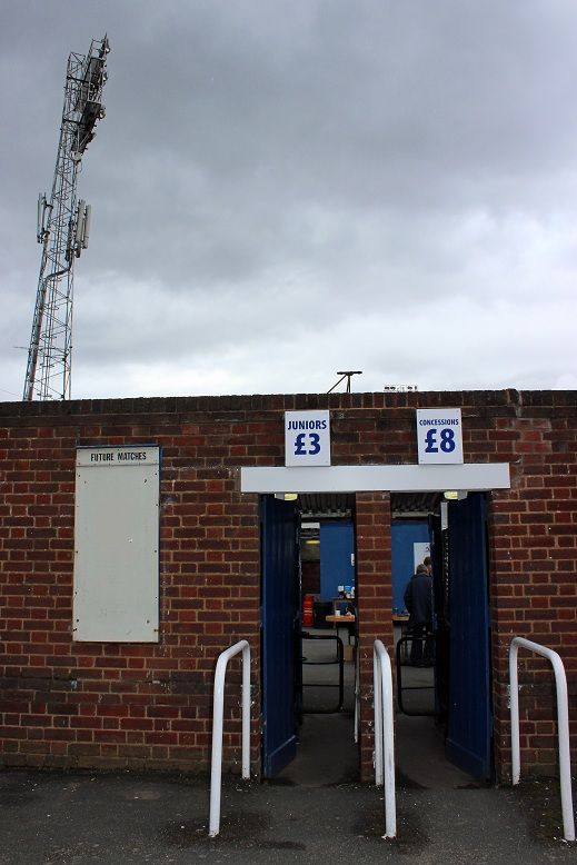Worcester City FC - St. George's Lane
