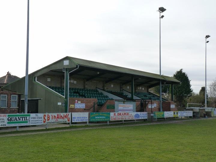 Burscough FC - Victoria Park - The Grandstand