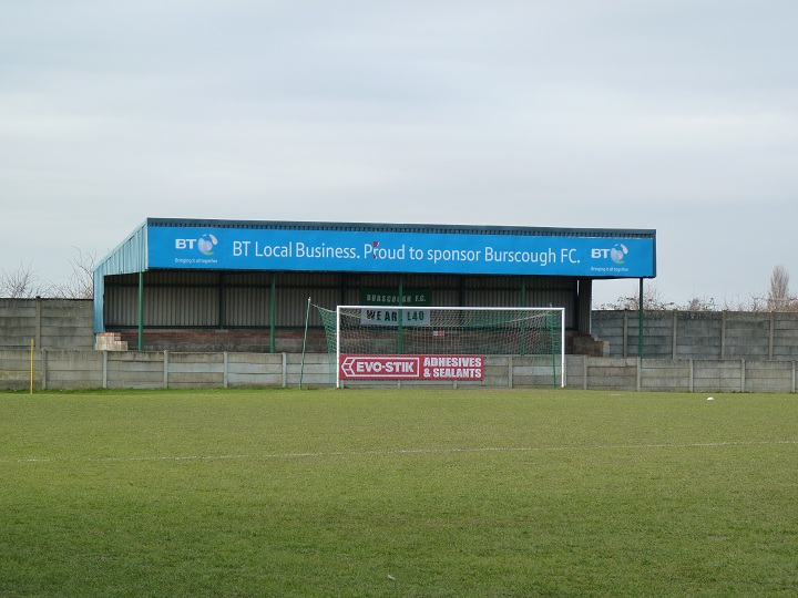 Burscough FC - Victoria Park - Crabtree Lane End