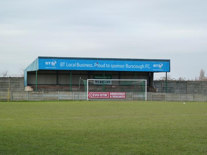 Burscough FC - Victoria Park - Crabtree Lane End