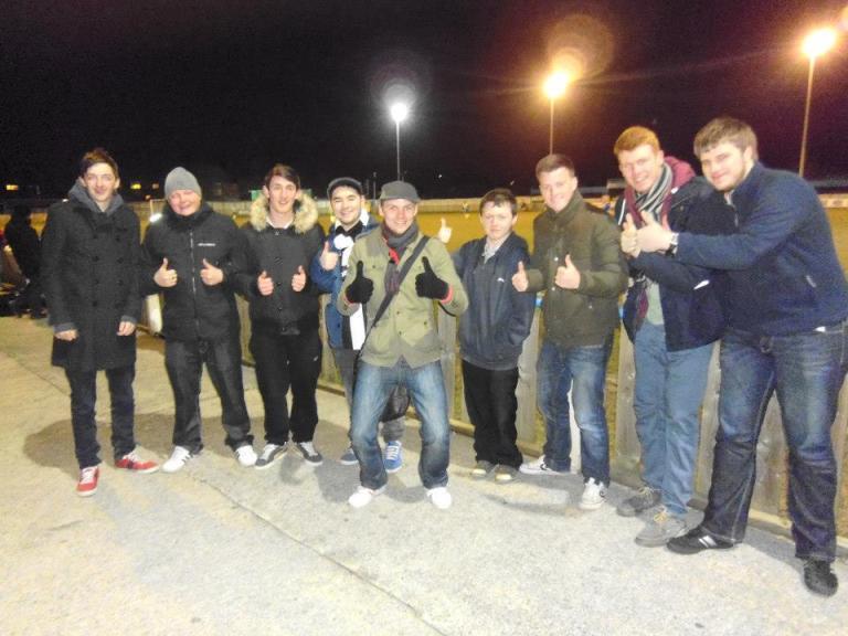 Will, Rob, Danny, Me, Matt, Rob, Aaron, Lewis and Sam