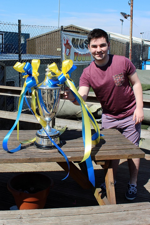 Me with the NWCFL Division One Trophy