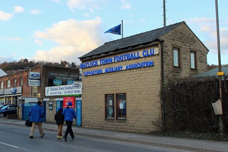 Matlock Town FC - Causeway Lane