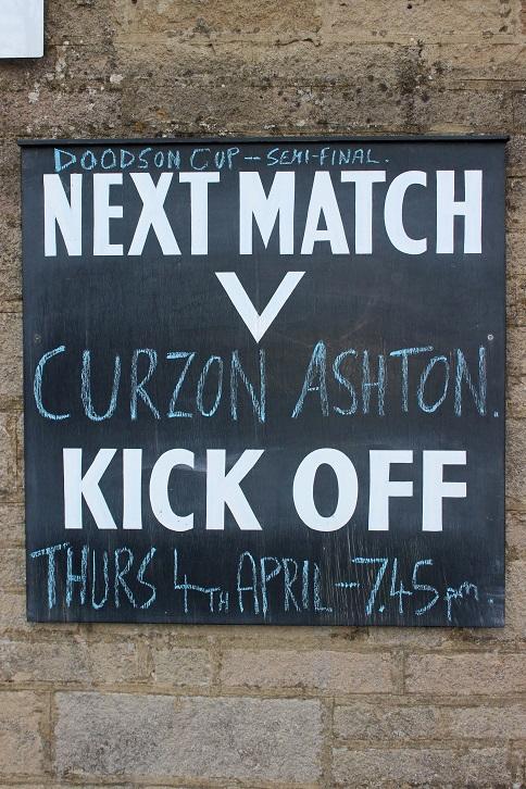 Matlock Town v Curzon Ashton