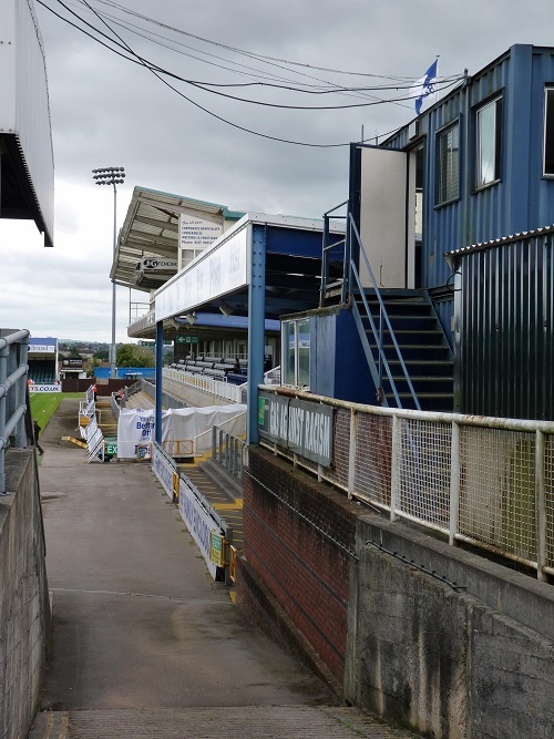 Bristol Rovers FC - The Memorial Stadium