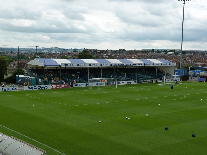 Bristol Rovers FC - The Memorial Stadium - South Stand