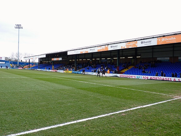 Stockport County FC - Edgeley Park - Popular Side