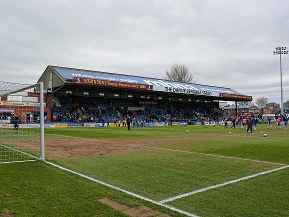 Stockport County FC - Edgeley Park - Danny Bergara Stand