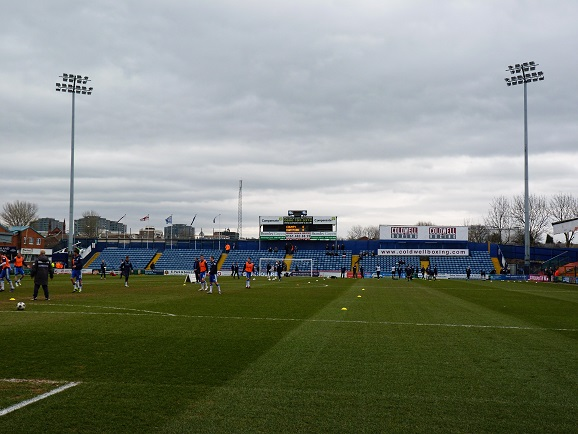 Stockport County FC - Edgeley Park - Railway End
