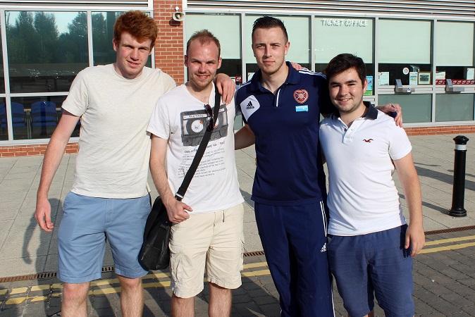 Lewis, Matt, Danny Wilson and myself