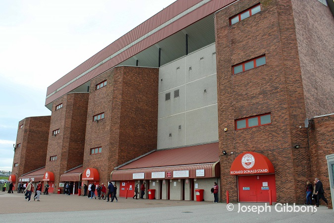 Aberdeen FC - Pittodrie - Richard Donald Stand