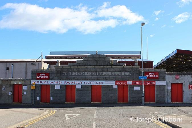 Aberdeen FC - Pittodrie - Merkland Road