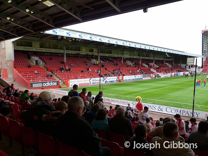 Aberdeen FC - Pittodrie - Main Stand