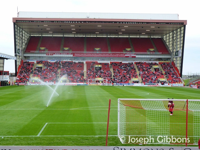 Aberdeen FC - Pittodrie - Richard Donald Stand