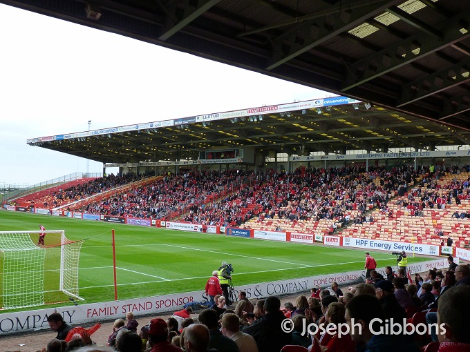 Aberdeen FC - Pittodrie - South Stand