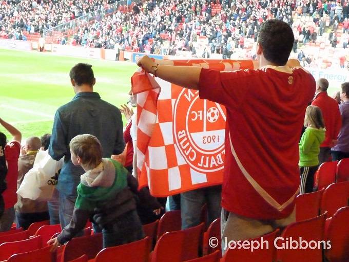 Fan at full time