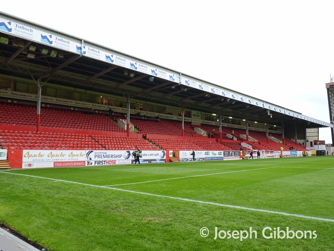 Aberdeen FC - Pittodrie - Richard Donald Stand - Main Stand