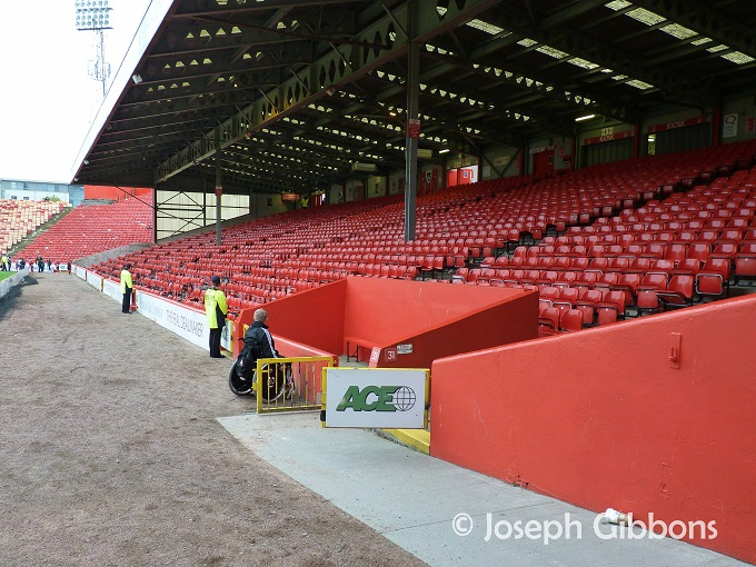 Aberdeen FC - Pittodrie - Merkland