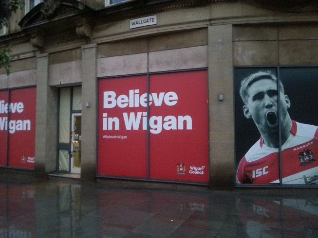 Wigan, the capital of trophies
