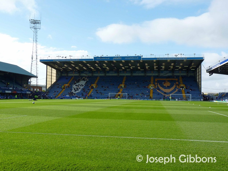 Fratton Park - Portsmouth FC - Fratton End