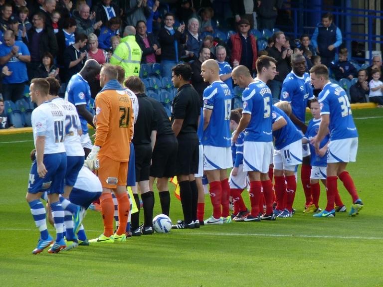 Teams lining up