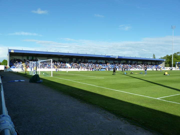 Chester FC - The Deva Stadium