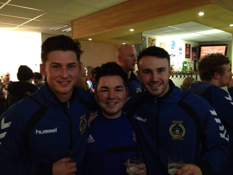 Me with Connor Hampson and Matty Warburton