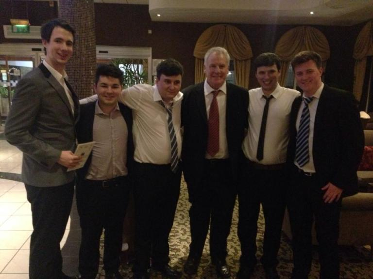 Brad, Myself, TGOTT, Joe Royle, Alex, Aaron