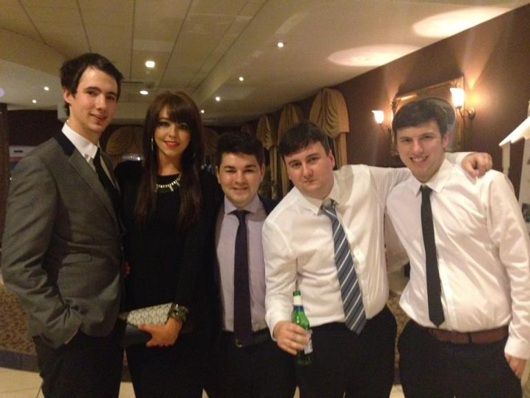 NPL awards - Brad, Louise, Myself, TGOTT and Alex