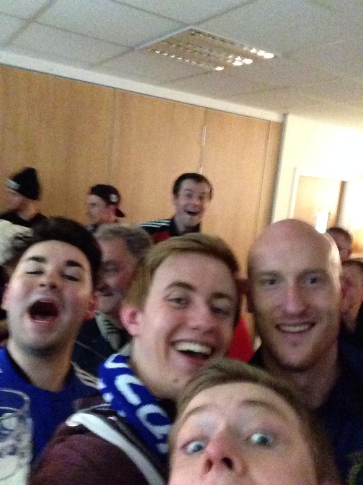 Andy Watson selfie
