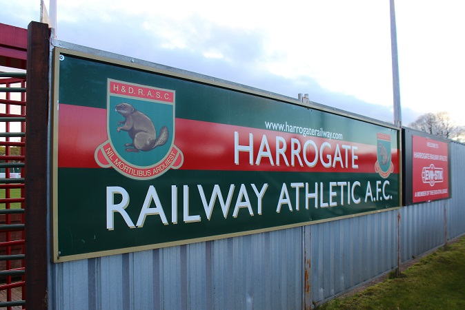 Harrogate Railway Athletic FC - Station View