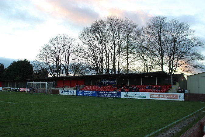Harrogate Railway Athletic AFC - Station View